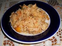 Рецепт Капуста тушеная с рисом рецепт с фото
