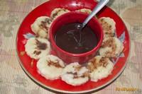 Рецепт Ленивые вареники с шоколадной подливкой рецепт с фото