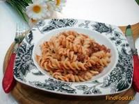 Рецепт Макароны по-флотски с томатом рецепт с фото