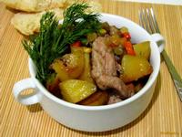 Рецепт Картофель запеченный с мексиканской овощной смесью рецепт с фото