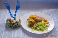 Рецепт Запеченная курица в апельсиновом соусе рецепт с фото