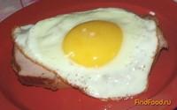 Рецепт Бутерброд крок мадам рецепт с фото