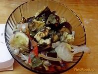 Рецепт Закуска из запеченных баклажанов рецепт с фото
