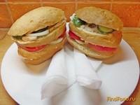 Рецепт Яичный сэндвич на скорую руку рецепт с фото