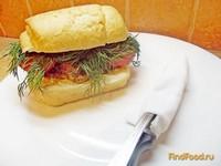 Рецепт Бутерброд с печенью рецепт с фото