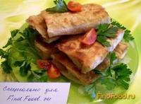 Рецепт Конвертики с баклажанами рецепт с фото