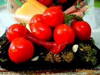 Рецепт Помидоры маринованные закусочные рецепт с фото
