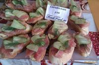 Рецепт Бутерброды с соленой горбушей рецепт с фото