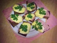 Рецепт Горячие бутерброды Сытные рецепт с фото