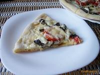 Рецепт Пицца с грибами рецепт с фото