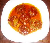 Рецепт Кабачки в томатной заливке рецепт с фото