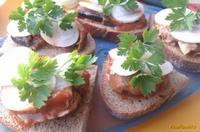 Рецепт Бутерброды Ностальгия рецепт с фото