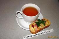 Рецепт Гренки с сыром и беконом рецепт с фото