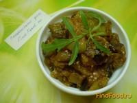 Рецепт Баклажаны тушенные с томатом и перцем рецепт с фото