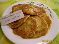 Рецепт Оладьи кабачковые с сыром и чесноком рецепт с фото