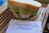 Рецепт Бутерброд летний рецепт с фото