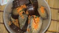 Рецепт Соленые баклажаны с морковкой рецепт с фото