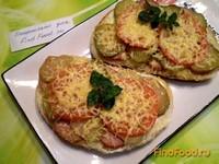 Рецепт Горячий бутерброд в духовке рецепт с фото