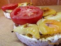 Рецепт Диетические горячие бутерброды рецепт с фото