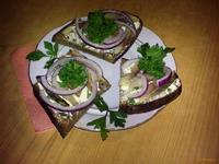 Рецепт Бутерброд с сельдью рецепт с фото