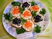 Рецепт Закуска сырная с икрой рецепт с фото
