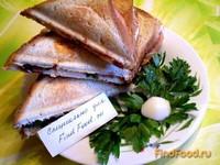 Рецепт Сэндвич с яйцом колбасой и зеленью рецепт с фото