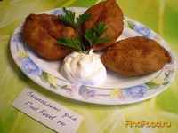 Рецепт Пирожки с картофелем и печенью рецепт с фото
