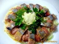 Рецепт Сельдь под горчичным соусом рецепт с фото