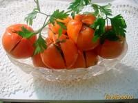 Рецепт Помидоры бурые закусочные рецепт с фото
