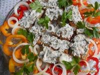 Рецепт Бутербродики с салом и болгарским перцем рецепт с фото