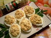 Рецепт Яйца фаршированные морковью по-корейски рецепт с фото