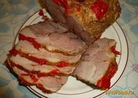 Рецепт Свинина запеченная с болгарским перцем рецепт с фото