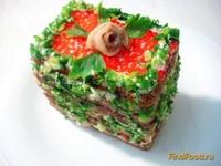 Рецепт Закусочный торт рецепт с фото