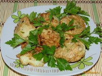 Рецепт Капуста в кляре рецепт с фото