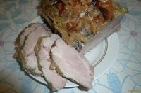 Рецепт Свинина запеченная с яблоком рецепт с фото