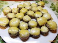 Рецепт Закуска из фаршированных шампиньонов рецепт с фото