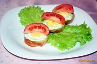 Рецепт Канапе с соусом гуакамоле рецепт с фото