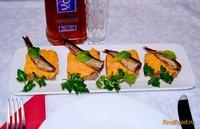 Рецепт Канапе со шпротами рецепт с фото