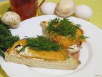 Рецепт Брускетта с яйцом рецепт с фото