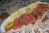 Рецепт Рыба соленая с пряными травами рецепт с фото