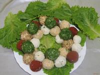 Рецепт Закусочные шарики к празднику рецепт с фото