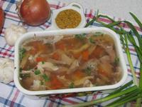 Рецепт Холодец со свиной рулькой и курицей рецепт с фото