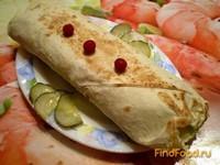 Рецепт Шаурма с пекинской капустой и отварной говядиной рецепт с фото