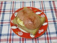 Рецепт Бутерброд с яйцом и колбасой рецепт с фото