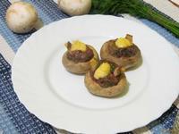 Рецепт Гнезда из шампиньонов рецепт с фото
