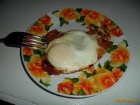 Рецепт Яичница Быстрый завтрак рецепт с фото