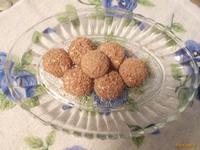 Рецепт Творожные шарики с яблоком и шоколадом рецепт с фото