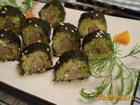 Рецепт Картофельный ролл с сельдью рецепт с фото