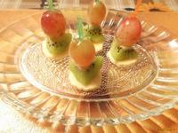 Рецепт Фруктовые канапе Тропический микс рецепт с фото
