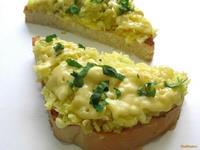 Рецепт Горячий бутерброд с картофелем и сыром рецепт с фото
